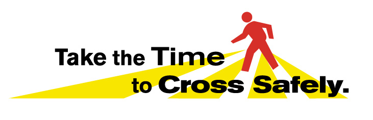 take the time to cross safely