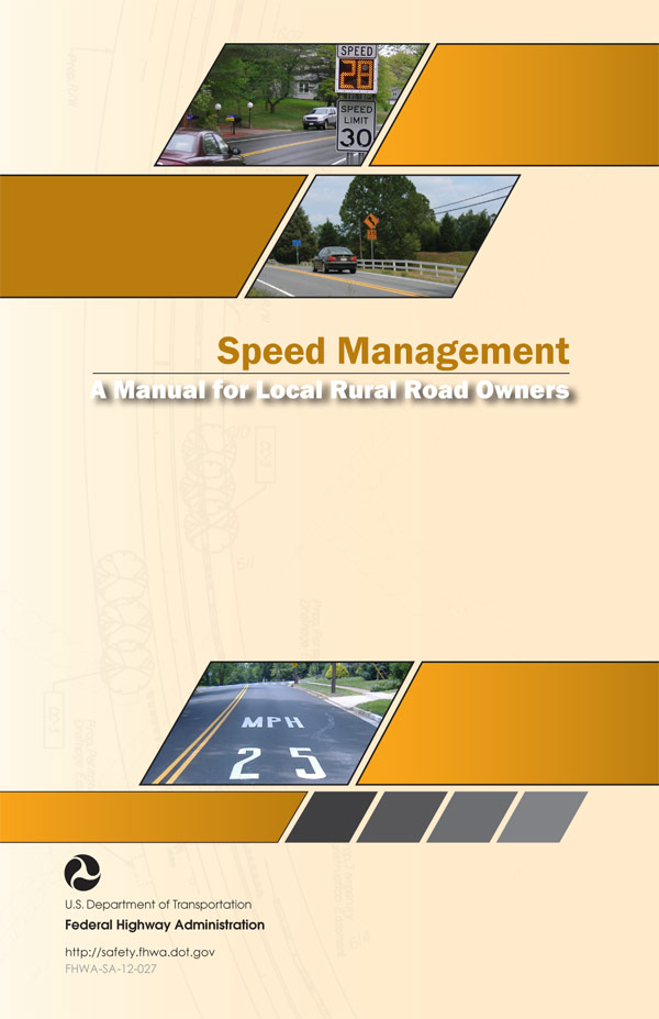 Cover: Speed Management: A Manual for Local Rural Road Owners