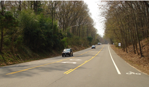 Fall 2016 volume 10 issue 3 safety federal highway administration photo of the road diet installed on lawyers road in reston va featuring two through fandeluxe Images