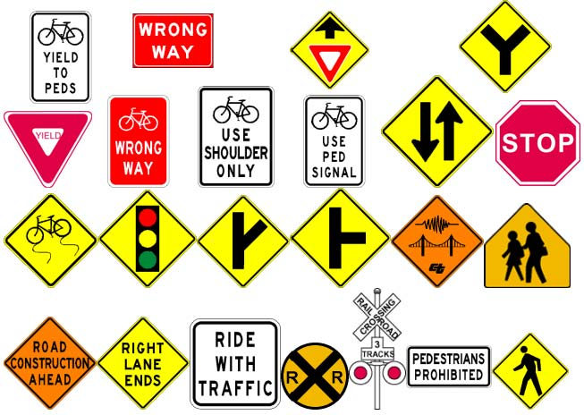 Image: Traffic Signs Handout for Group Discussion 1 of 2