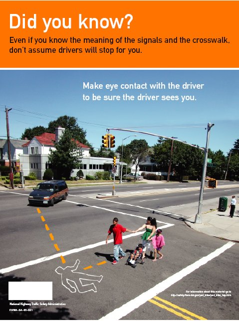 Material para Hispanico Peaton y Bicyclists - Safety ...