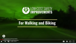 Screenshot: Cover of Lo-Cost Safety Improvement For Waling and Biking