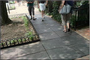 Figure 5. Survey responses related to sufficient process for prioritizing maintenance of pedestrian facilities