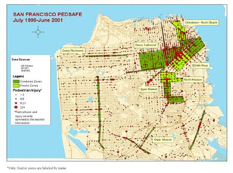 FHWA PedSafe The San Francisco MTAUC Berkeley Pedestrian Safety