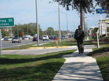 safety benefits of walkways sidewalks and paved shoulders safety