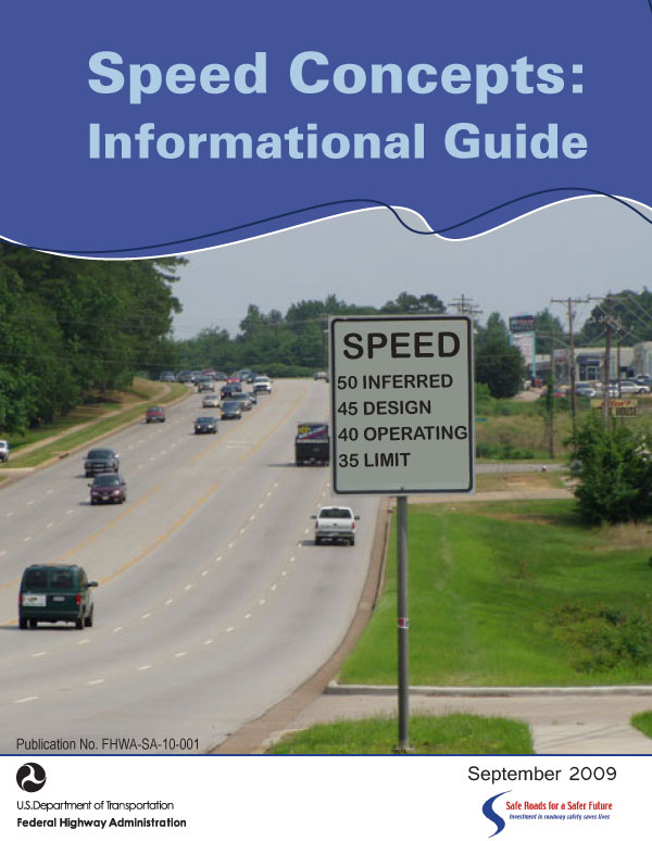speed concepts informational guide safety federal